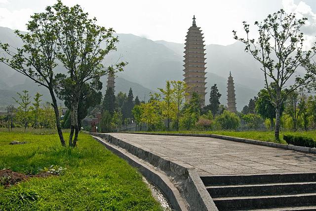 The Three Pagoda Park