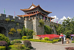 Old City gate of Dali