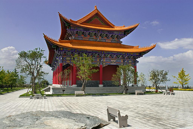 Other tempel in the park