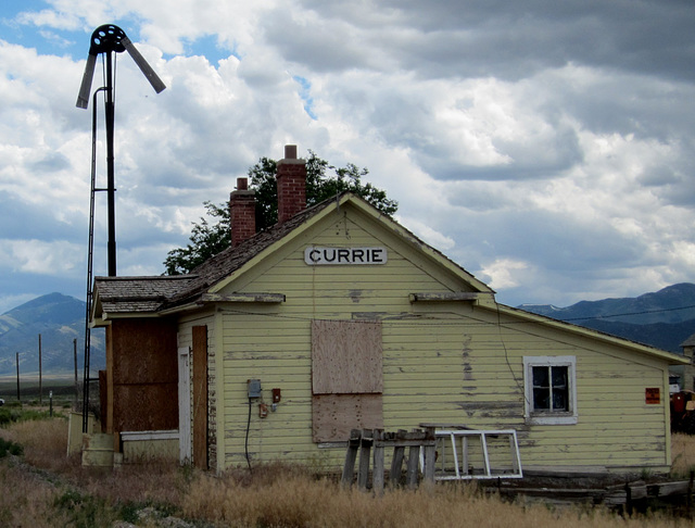Currie, NV NNRY depot 0619a