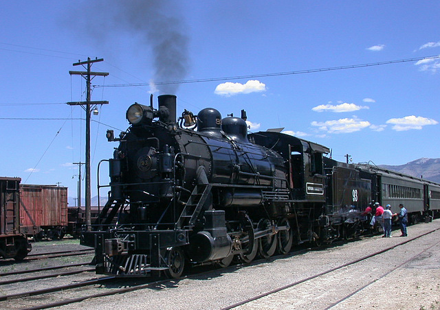 Nevada Northern Railroad (706)