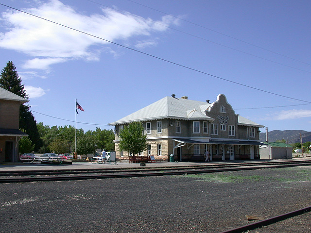 Nevada Northern Railway Ely depot 674