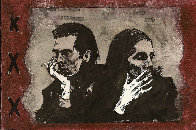 Nick Cave and PJ Harvey