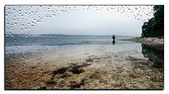 Rainy Day am Ostseestrand