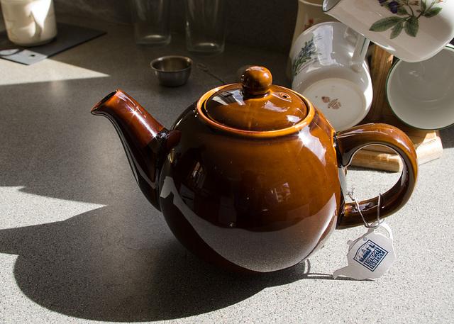 New Brown Teapot