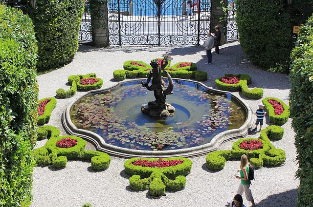 Brunnen in der Villa Carlotta