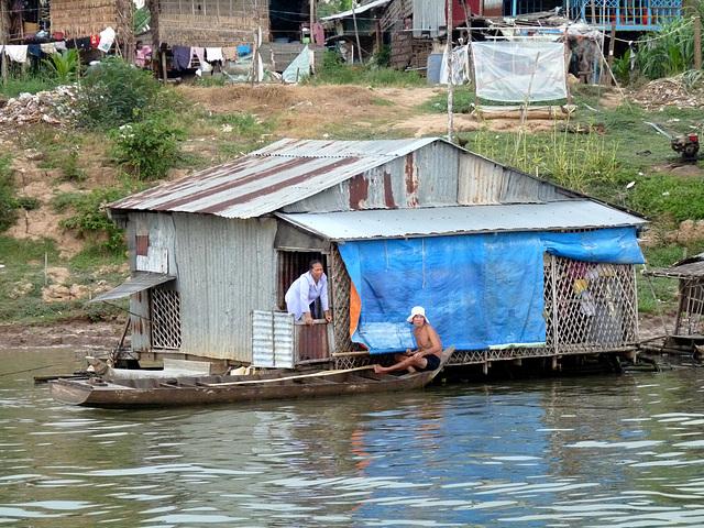 Riverside Life on the Mekong