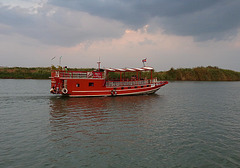 Red Tourist Boat