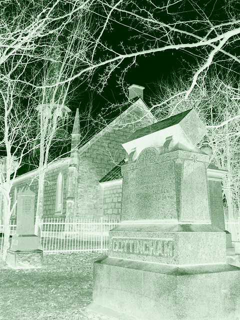 Hommage in memoriam au fantôme Cottingham.