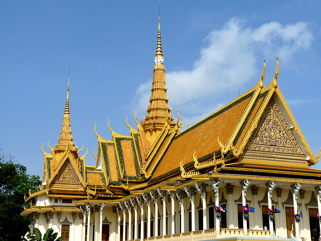Throne Hall, Royal Palace, Phnom Penh