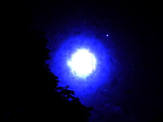 Ananda dans le bleu crépuscule