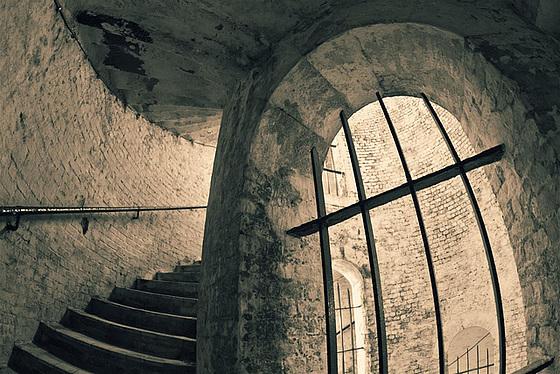 Inside the Grand Shaft