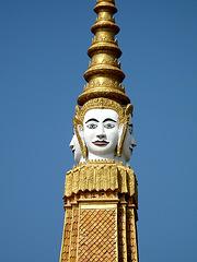 Spire, Royal Palace, Phnom Penh, Cambodia.