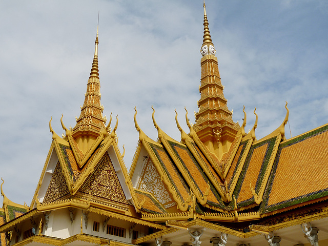Throne Hall Roofs