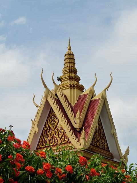 Architectural Splendour, Royal Palace, Phnom Penh, Cambodia.