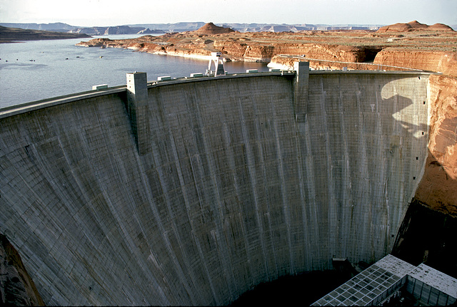 The Glen Canyon Dam