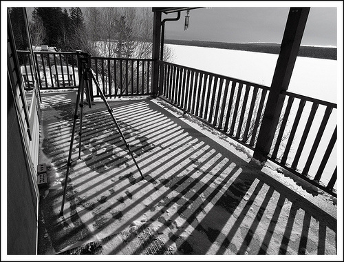 Our deck at the lake.