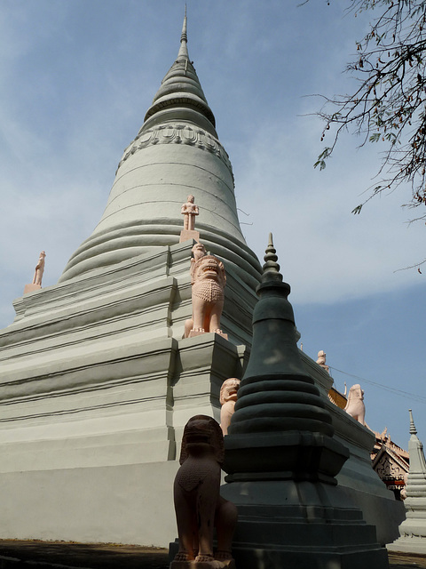Stupa of King Ponhea Yat and his Royal Family, Wat Phnom