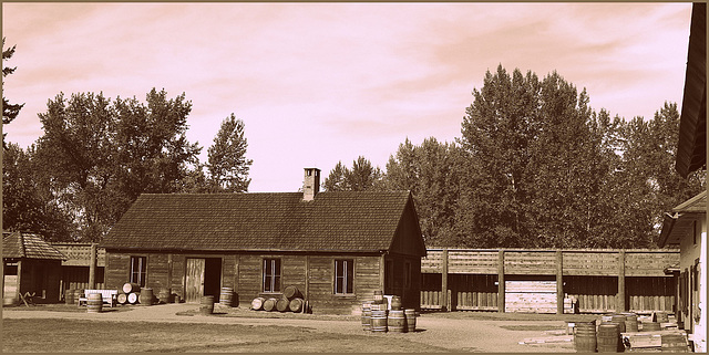 Fort Langley in British Columbia, Canada