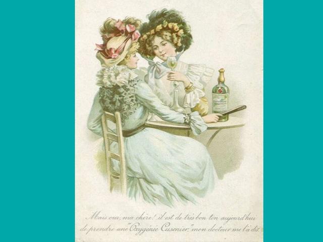 Affiche ancienne en faveur de l'absinthe
