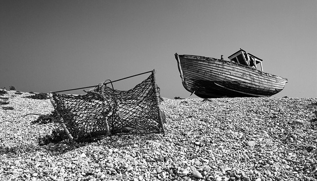 Dungeness Boat and Net
