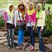 Khmer New Year Celebrations- Muslim Girls Posing