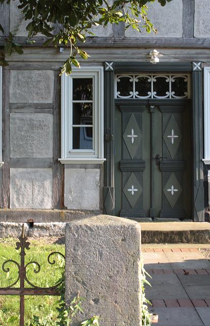 Tür in Förste Osterrode am Harz
