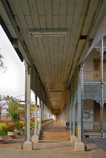 The veranda of the old City Hall of Nonthaburi