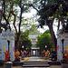 The entrance into the Wat Chalaem Prakiat