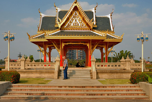Thai Sala in the Suan Chalerm Kanchanapisek