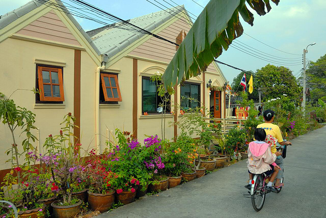 Terrace houses in Nonthaburi