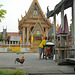 Wat at the Khlong Mon in Thonburi
