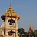 The bell tower (Ho Rakang หอระฆัง) of the Wat Sri Prawat