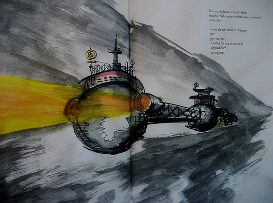 Terrestrial Spaceship (illustration)
