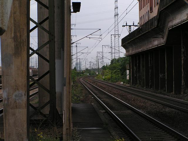 Mannheim Seckenheim Bahnhof 38