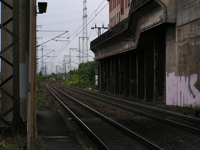 Mannheim Seckenheim Bahnhof 37