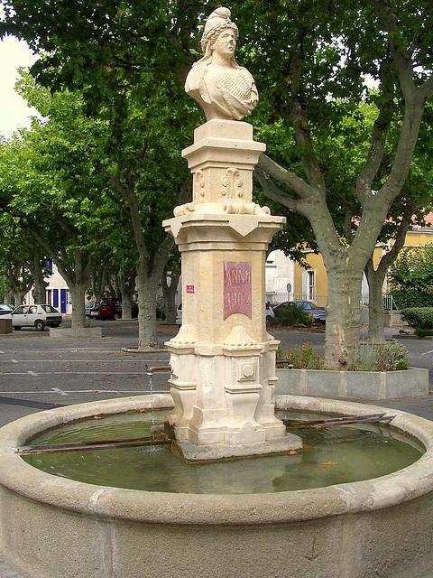 fontaine à la Marianne