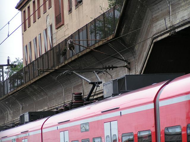 Mannheim Seckenheim Bahnhof 28