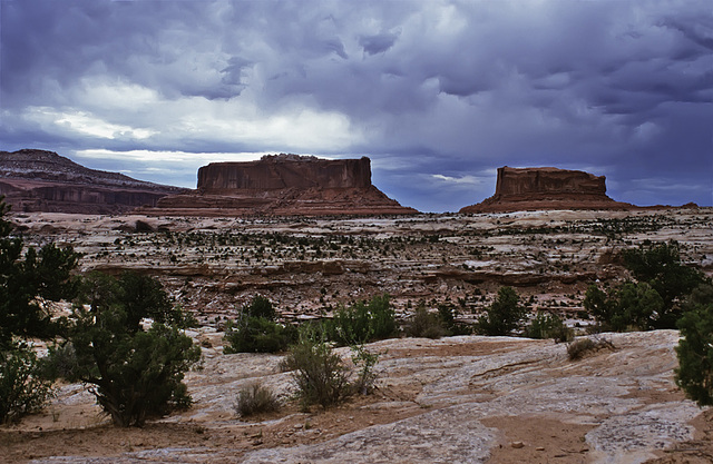 Stormy clouds near Moab