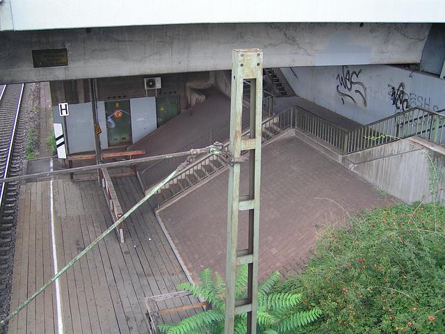 Mannheim Seckenheim Bahnhof 8