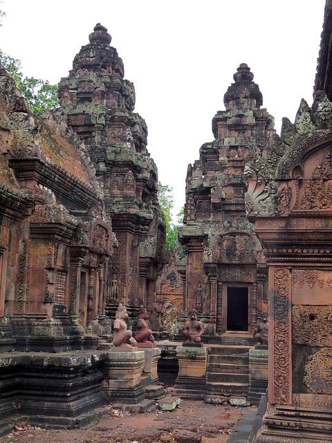 Banteay Srei- Dedicated to the Hindu God, Shiva
