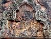 Intricate Carvings in Pink Sandstone- Banteay Srei