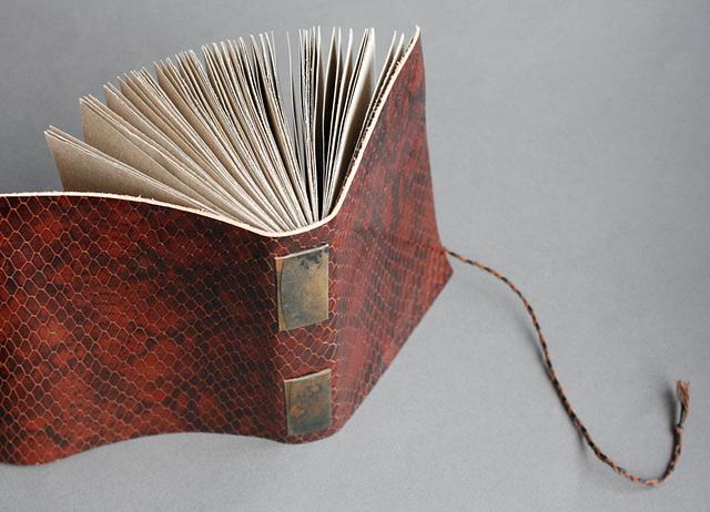 Snakeskin journal