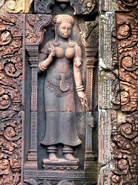Banteay Srei- Sculpture