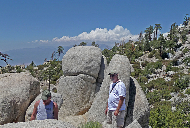 Pete & Ed on Black Mountain (0395)