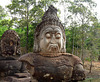 Angkor Thom- One of Numerous Stone Heads