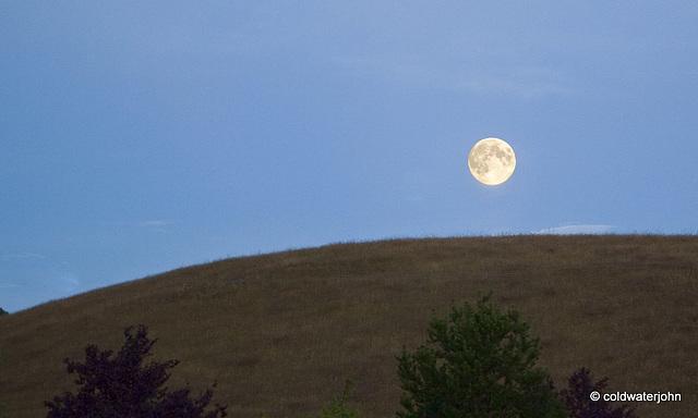 3 Minutes after Moonrise...