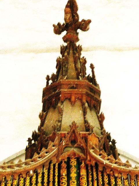 rushbrooke organ finial c.1840