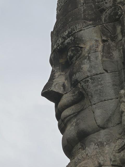 Angkor Thom- Profile in Stone