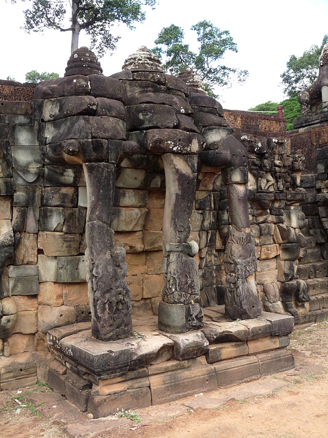 Angkor Thom- Terrace of the Elephants